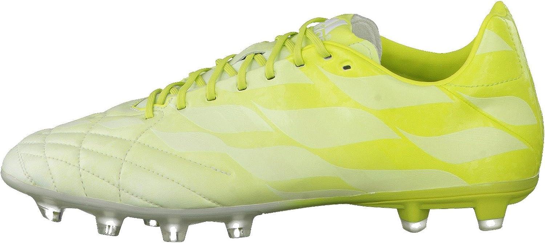 adidas Bota adipure 11Pro TRX FG Exclusiva White-Solar green ...
