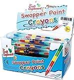 MunchieMooskids 24 x Swop Point Crayons