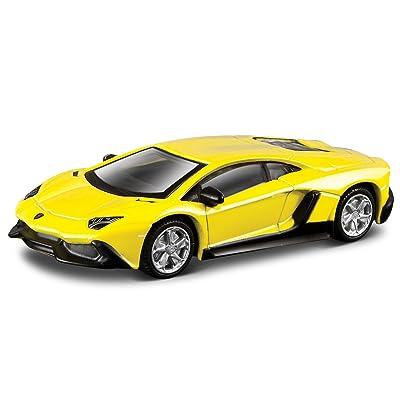 50º Aniversario de Lamborghini Modelo Lamborghini 1:64 en escala.: Juguetes y juegos