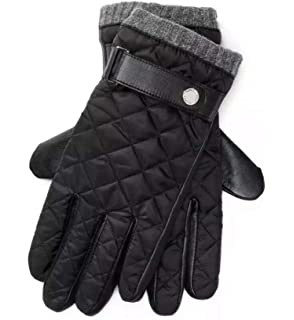 0f29d5e2fc752 Polo Ralph Lauren Men`s Quilted Leather Racing Gloves at Amazon ...