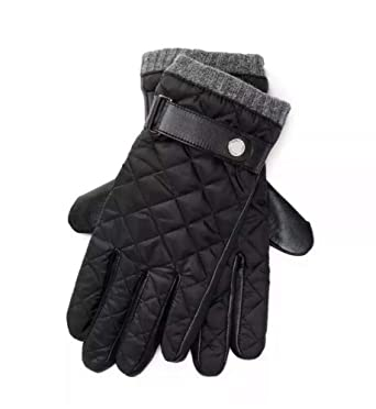 54e3e22f22ac Image Unavailable. Image not available for. Color  POLO Ralph Lauren Men s  Leather Quilted Gloves