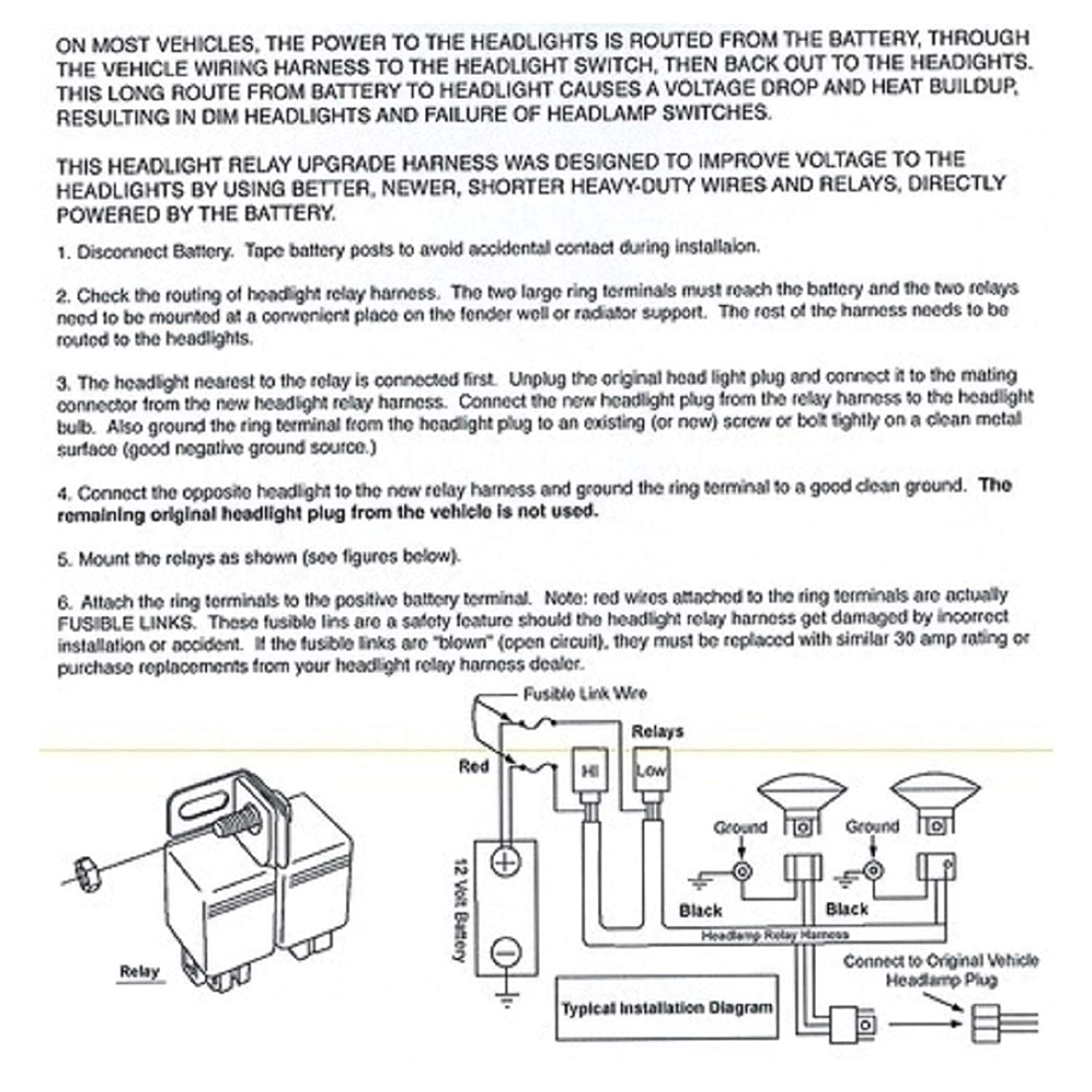 H4 Headlight Wiring Diagram from images-na.ssl-images-amazon.com