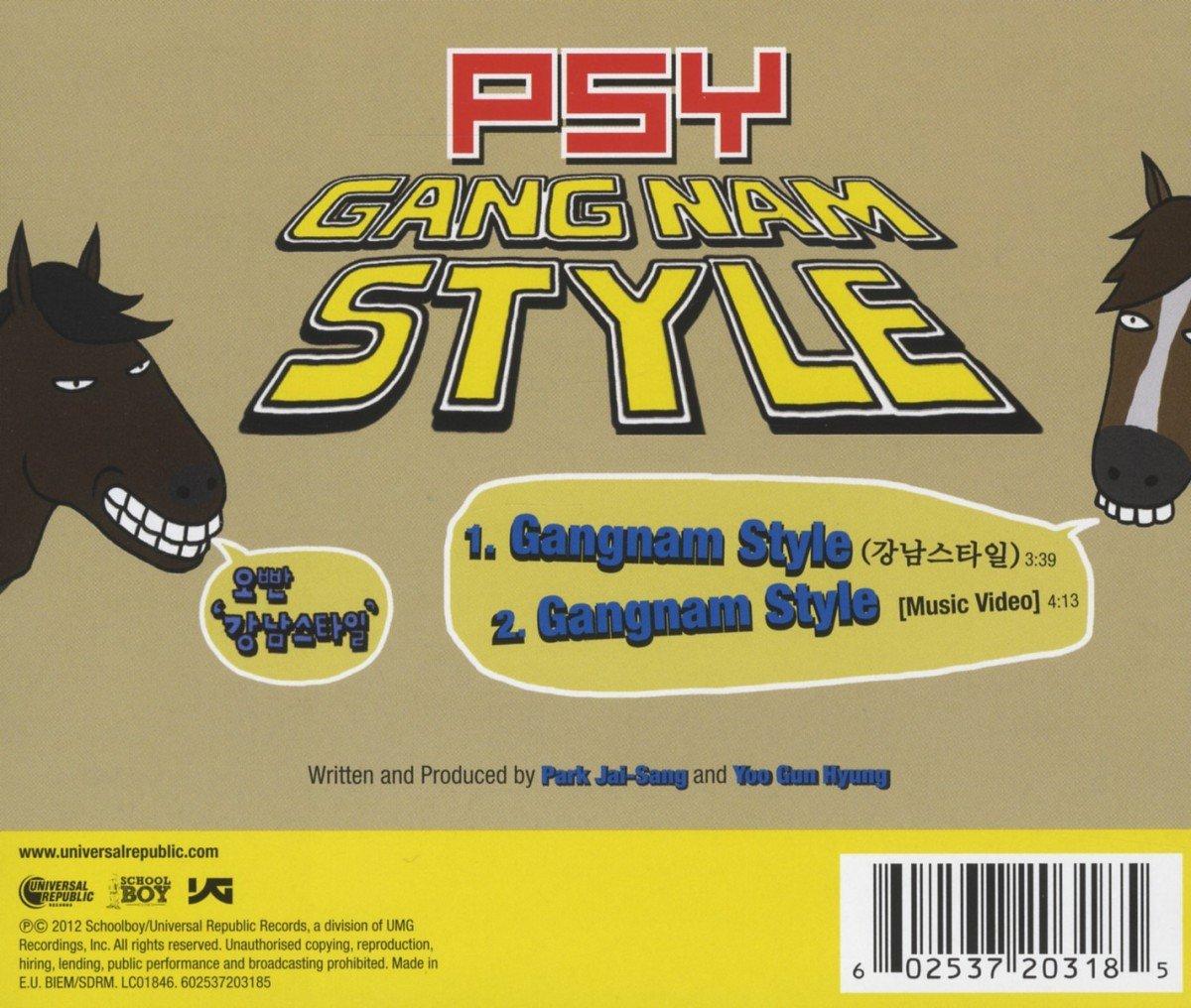 Gangnam Style (Single-Enhanced CD)