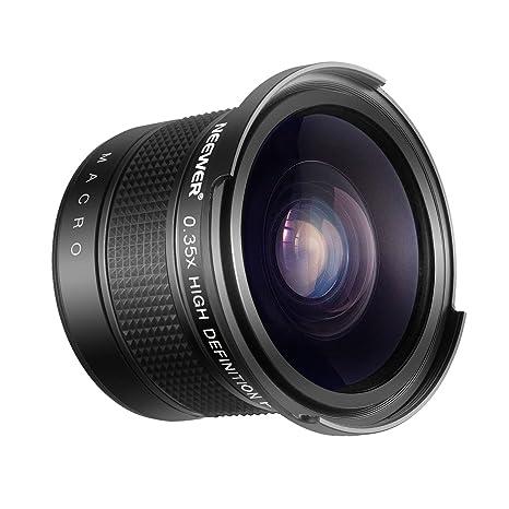 Review Neewer 55mm 0.35X Fisheye