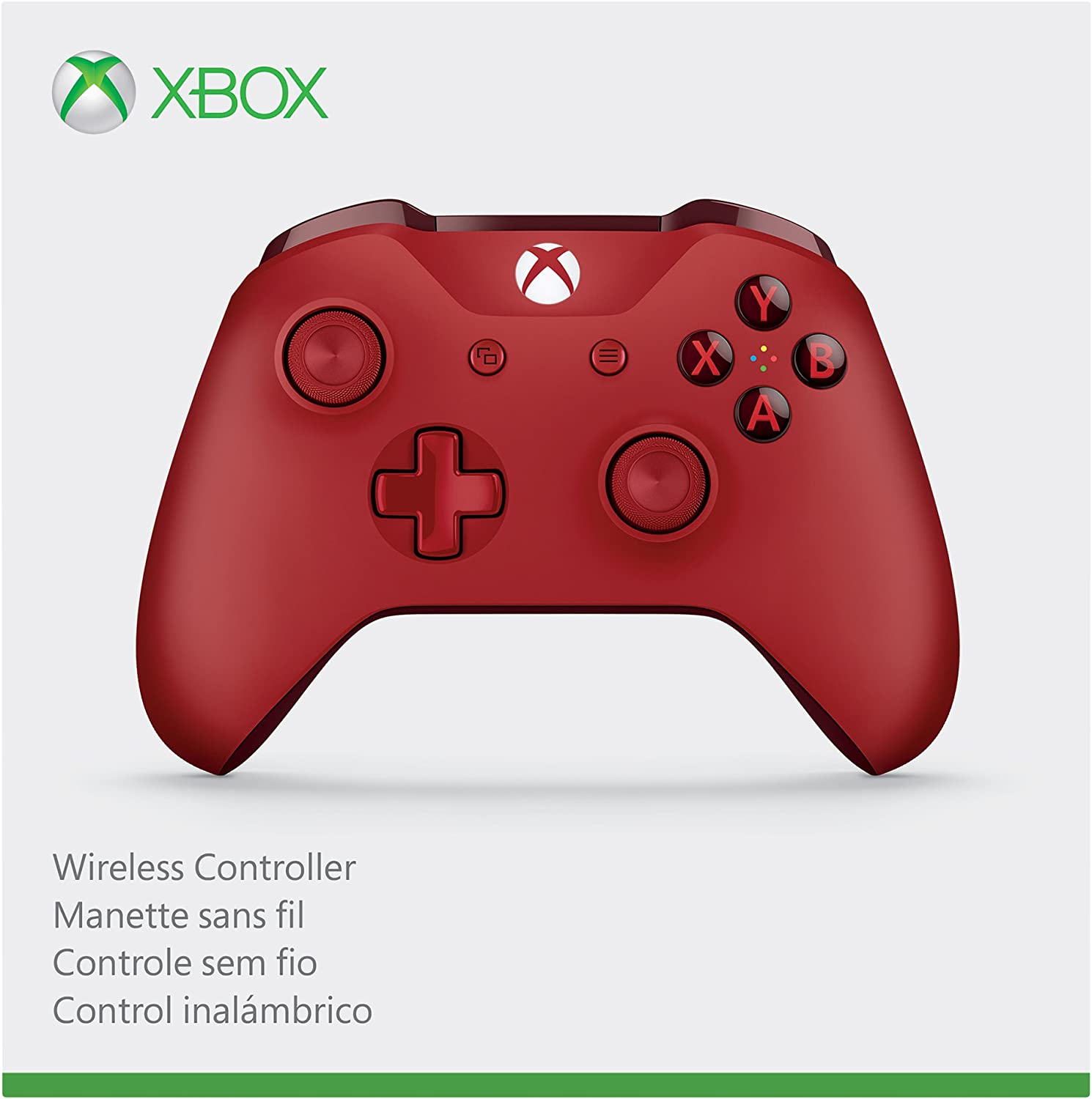 Amazon com: Xbox Wireless Controller - Red: xbox one: Video Games