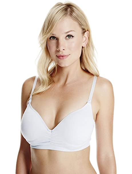 e535ada6f5071 Jessica Simpson Seamless Jacquard Nursing Bra  Amazon.ca  Clothing    Accessories