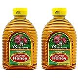 YS Clover Honey Pure Premium 32 OZ (Pack of 2)