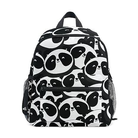 COOSUN Panda patrón Kinder Kids Mini Mochila preescolar bolsa del niño Multicolor