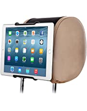 TFY Universal Car Headrest Mount Holder Fits ALL 7 Inch to 10 Inch Tablets - Apple iPad iPad 4 (iPad 2 & 3) iPad Air iPad Mini 2/3/4 - iPad Pro 9.7 - Samsung Galaxy Tab & Note and More