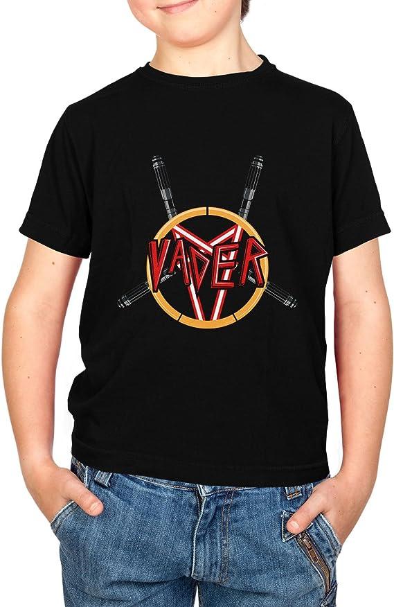 Nerdo Heavy Metal Vader-Kinder Camiseta, Unisex Niños, Negro, Extra-Large: Amazon.es: Deportes y aire libre