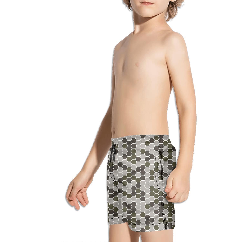 Ouxioaz Boys Swim Trunk USA map Desert Digital camo Beach Board Shorts