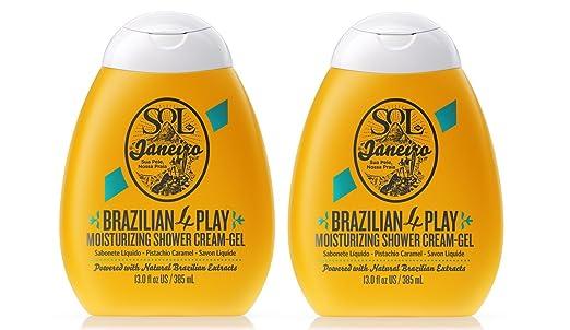 Amazon.com : Sol de Janeiro Brazilian 4 Play Moisturizing Shower Cream-Gel (2 pack) : Beauty