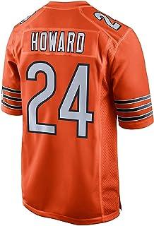 SansFin Jordan_Howard_#24_Orange_Game_Jersey pour Hommes/Femmes/Jeunesse