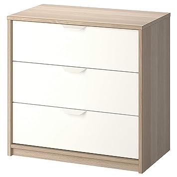 Amazon.com: IKEA.. 503.185.72 Askvoll - Baúl de 3 cajones ...
