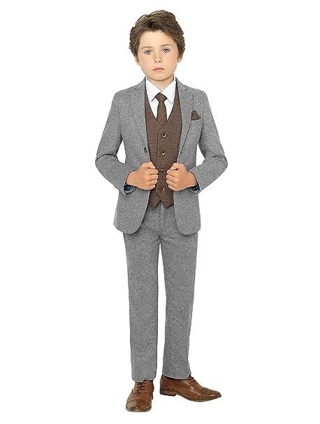Paisley of London - Traje - para niño Gris gris 14 años ...