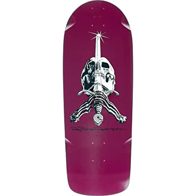 Powell-Peralta Ray Rod Skull/Sword Og Snub Deck -10x28.2 Pur Assembled as Complete Skateboard : Sports & Outdoors
