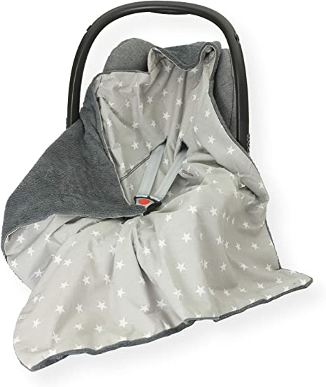 COVER COSYTOES* PUSHCHAIR* UK Stock Warm HOODED CAR SEAT PADDED BABY BLANKET