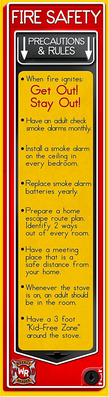 fire safety bulletin board banner