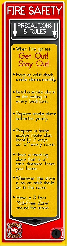 fire safety bulletin board banner