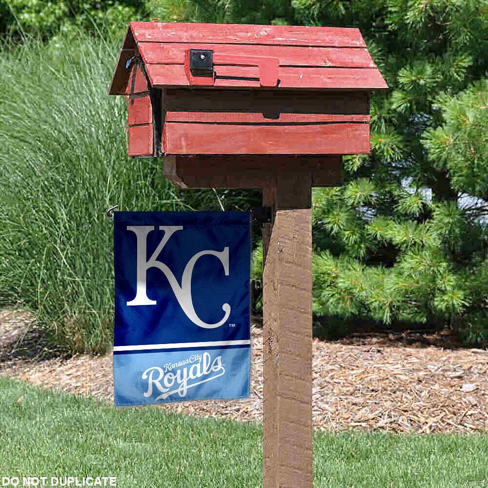 WinCraft Kansas City Royals Double Sided Garden Flag