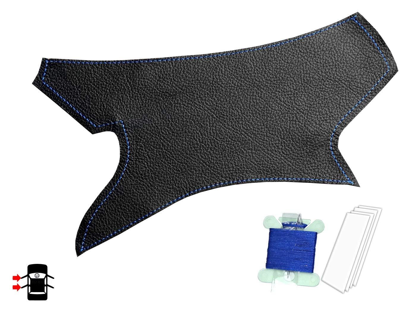 RECHTS Wei/ßer Stich Hellgrauer Lederersatz mit Innengriff f/ür 3er E90 E91 E92 E93 /& M3 vorne oder hinten passend