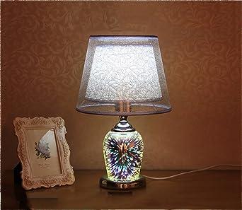 Lámpara 3d,Creativo Decoración Lámpara de sobremesa ...