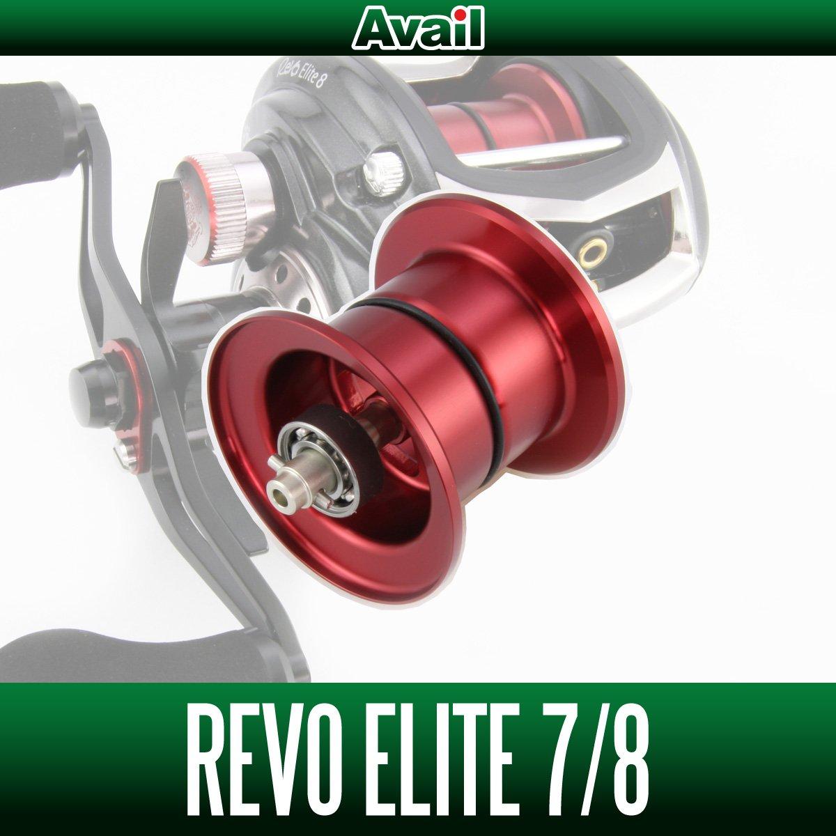 【Avail/アベイル】 Abu Revo3 エリート用 NEWマイクロキャストスプール RV352R-IV レッド   B00YAH5WYI
