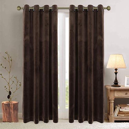 100 Blackout Velvet Curtains