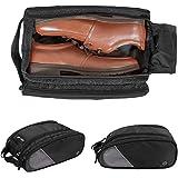 (バッグスマート)BAGSMART シューズケース 靴入れ ダブルジッパー式 旅行 出張 ジム用 プレゼント ギフト