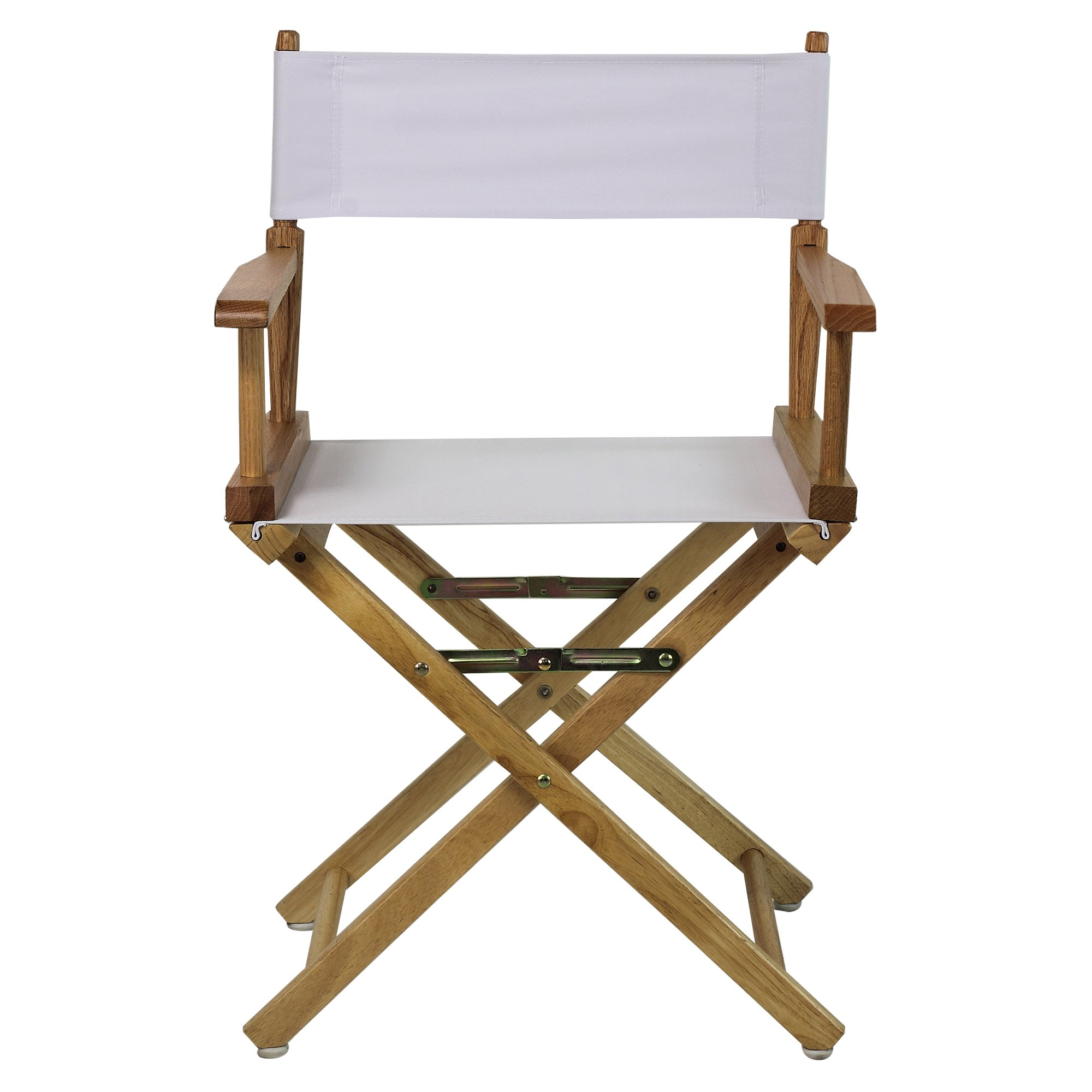 Casual Home 18-Inch Director Chair, Natural Frame