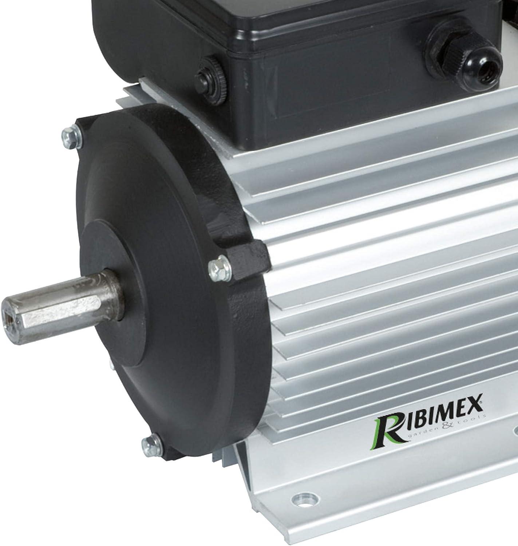 Motore Elettrico Monofase 1,5 HP 1,1KW 1400 Giri Puleggia Interruttore BETONIERA