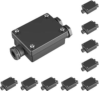 Parlat Cable-Conector Doble para el Exterior, Muffe para 6-8mm ...