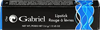 product image for Gabriel Cosmetics Lipsticks,0.13 Ounce, Natural, Paraben Free, Vegan, Gluten-free,Cruelty-free, Non GMO, High performance and long lasting, Infused with Jojoba Seed Oil and Aloe. (Clay)