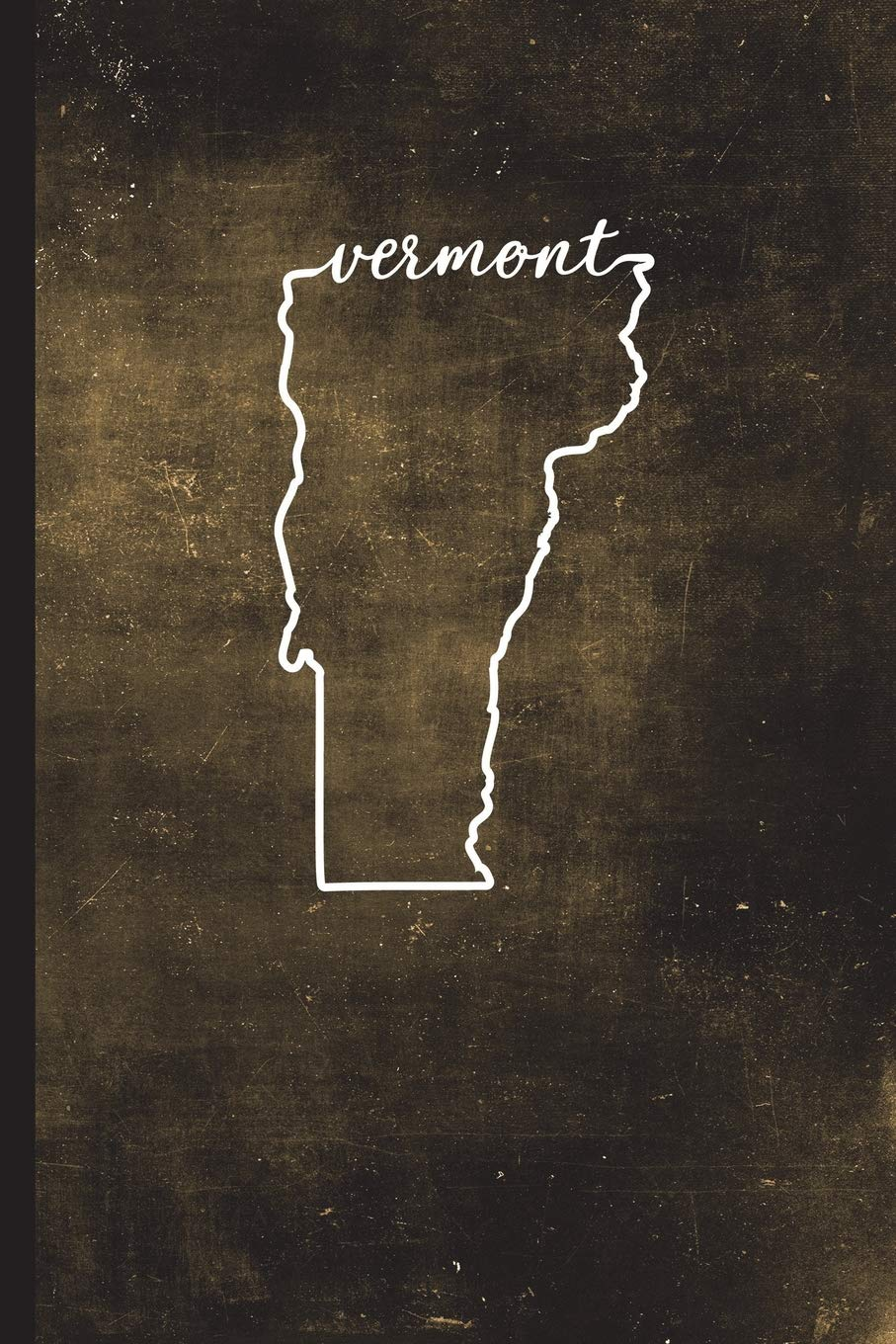 "Read Online Vermont: 6"" x 9""  128 Pages: Alaska State Silhouette Hand Lettering Cursive Script Design on Soft Matte Cover  Notebook, Diary, Composition Book for fans of the Green Mountain State in Montpelier pdf epub"
