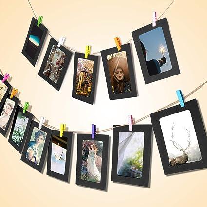 Amazon Picture Frames 4x6 Display Kraft Paper Hanging Photo