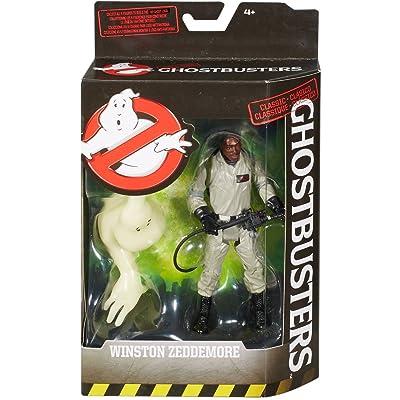 "Mattel Ghostbusters Winston Zeddmore 6"" Action Figure: Toys & Games"