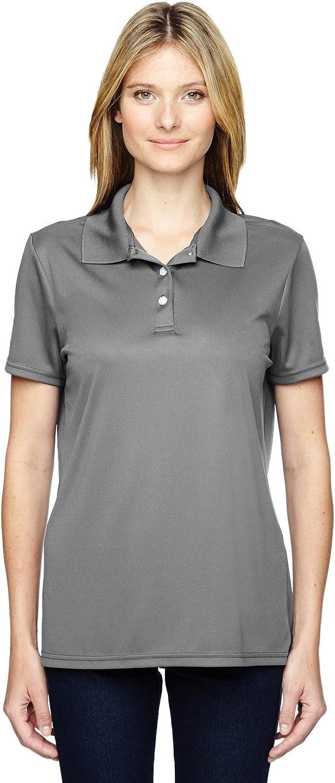 Hanes Womens 4 oz. Cool Dri Polo (480W) at  Women's Clothing store