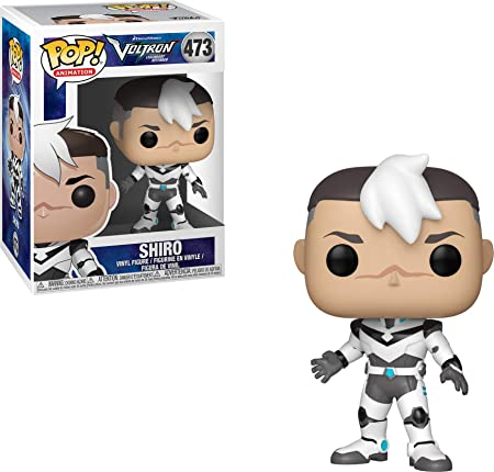 Funko Pop Animation: Voltron - Shiro Collectible Figure, Multicolor