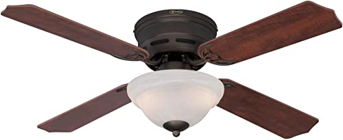 Westinghouse Lighting 7213000 Hadley Indoor Ceiling Fan with Light, 42 Inch, Oil Rubbed Bronze