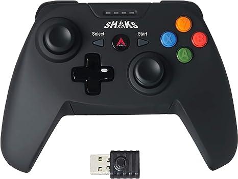 SHAKS S1 – Gamepad USB Inalámbrico. Mando PC, Mando Android, Mando ...