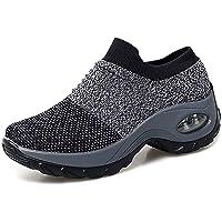 2020 Zapatos cuña Mujer Zapatillas de Deportivas Plataforma