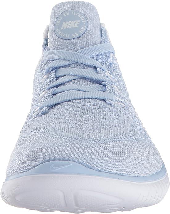 Nike WMNS Free RN Flyknit 2018, Sneakers Basses Femme