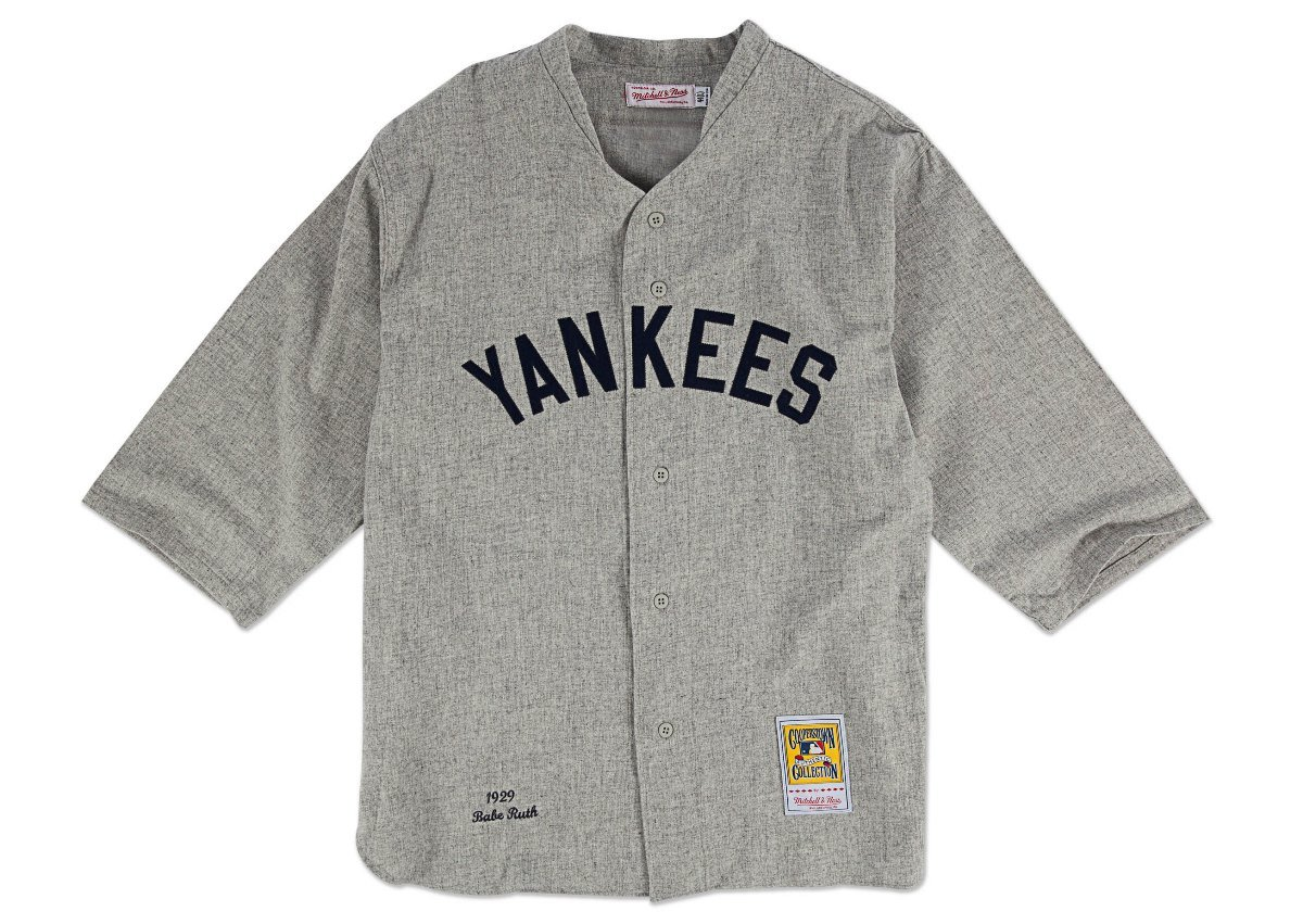 64a886071 ... store amazon new york yankees authentic 1929 babe ruth road jersey by mitchell  ness sports fan switzerland throwback ...