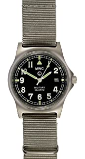 6dc0be2b9ff MWC G10 LM Military Watch (Olive Green Strap) 50M  Amazon.co.uk ...
