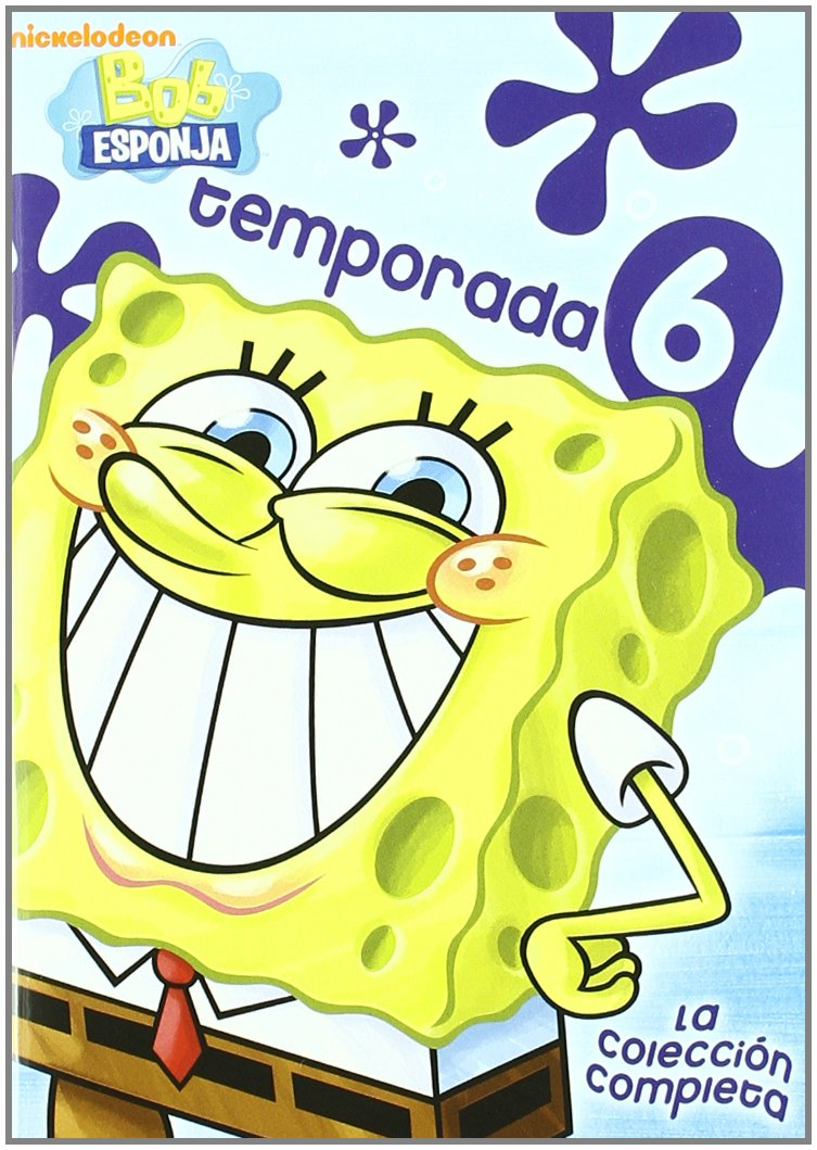 Bob Esponja: La 6ª Temporada Completa [DVD]: Amazon.es: Stephen ...