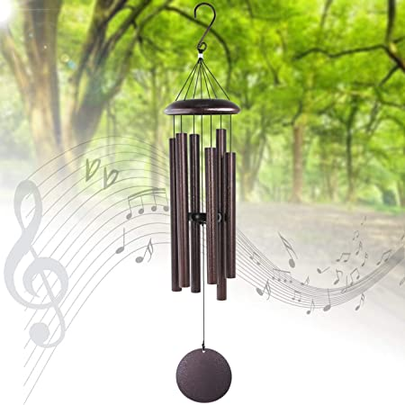 Amazon Com Meihong Outdoor Wind Chimes Large Deep Tone