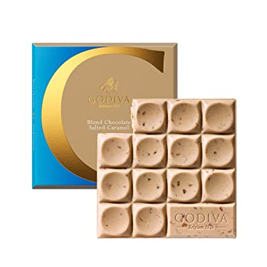 Godiva, Tableta Chocolate Rubio y Caramelo, 75g