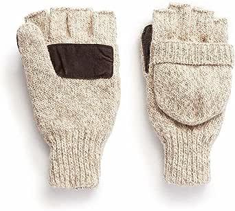 Hot Shot Men's Wool Gloves/Mittens, Oatmeal