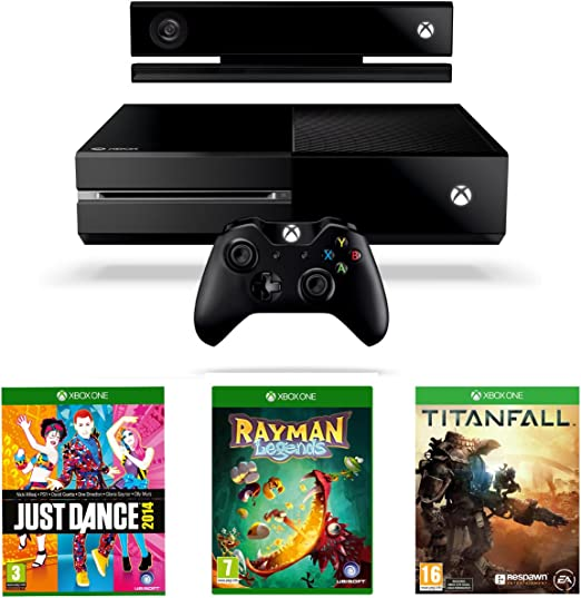 Xbox One Console With Titanfall, Just Dance 2014 And Rayman ...