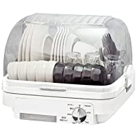 [山善] 食器乾燥機 (5人分) 120分タイマー付き YDA-500(W) [メーカー保証1年]